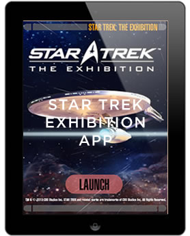 STAR TREK EXHIBITION APP